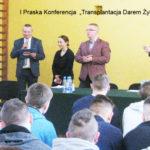 "I praska konferencja ""Transplantacja Darem Życia"""
