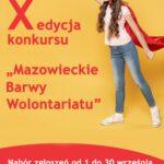 """""""Mazowieckie Barwy Wolontariatu"""" konkurs"""
