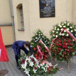Udział Zespołu Szkół nr 33 w uroczystości rocznicy śmierci Kornela Morawieckiego