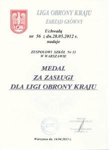 medal LOK